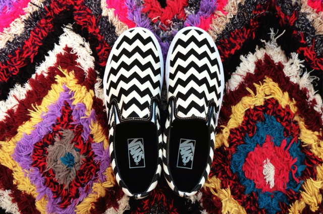 These Vans Chevron Slip Ons Are Also Rather Fabulous Available From Platypus S Nationwide